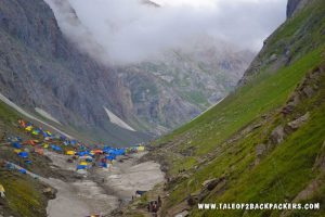 Sangam point at Amarnath Route