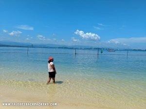 Seppangar Island near Kota Kinabalu