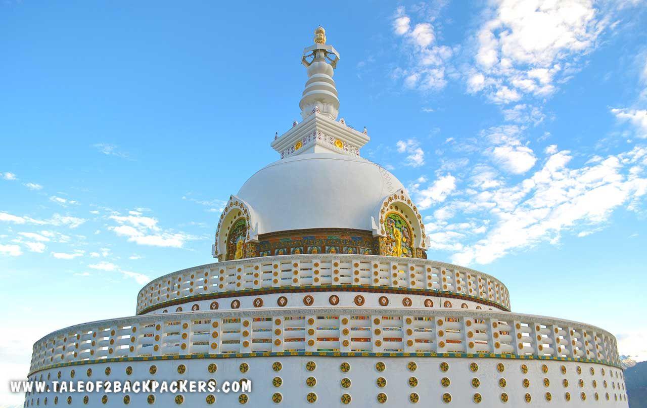 Shanti Stupa Leh Ladakh