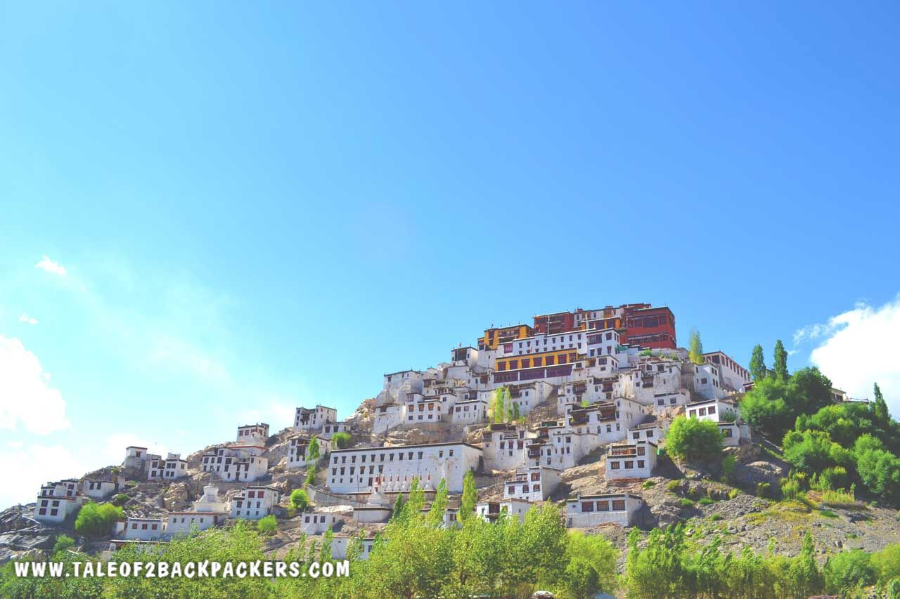Thiksey Monastery Leh Ladakh - Ladakh Trip Plan