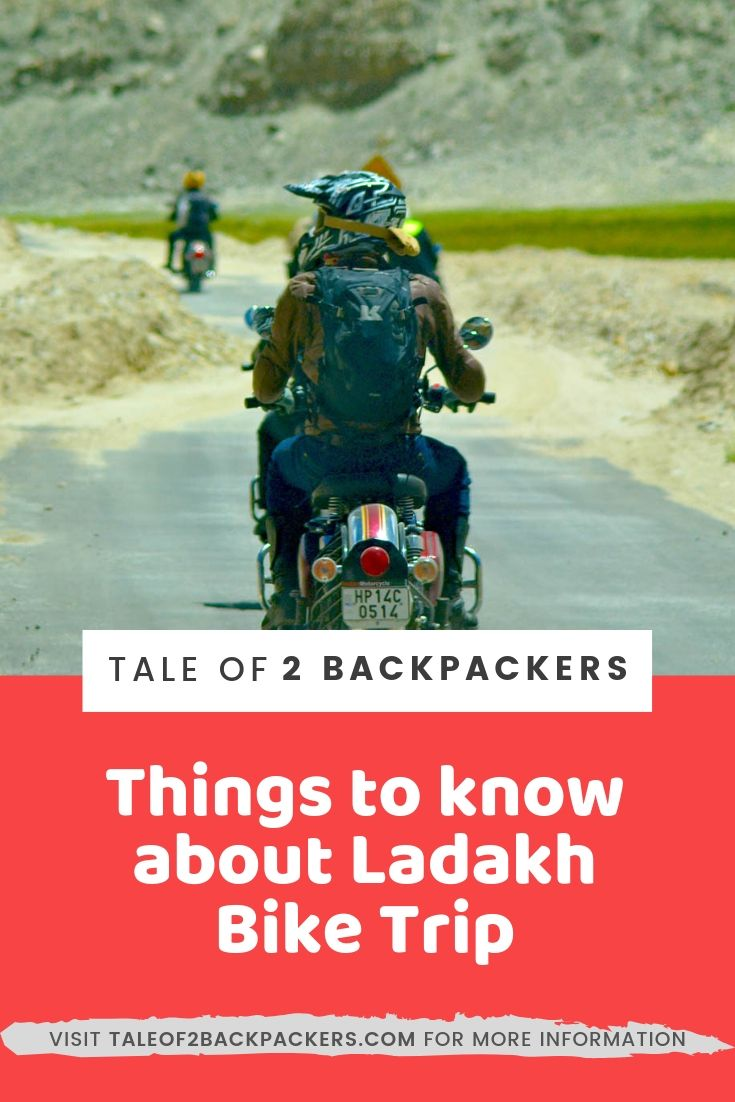 Things to know about Ladakh Bike Trip