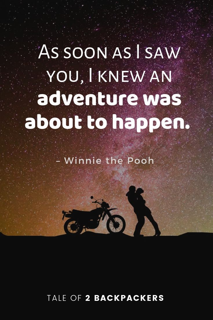 Adventure travel quotes from movies