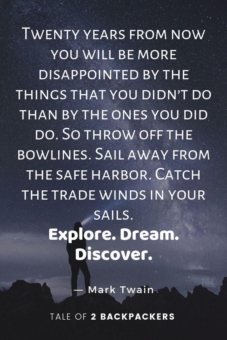Mark Twain Best Travel Quotes