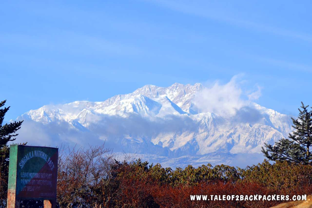 View of Kanchenjunga from Sandakphu