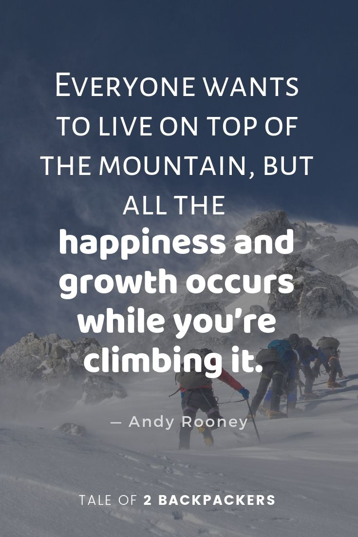 climbing quotes - best mountain quotes