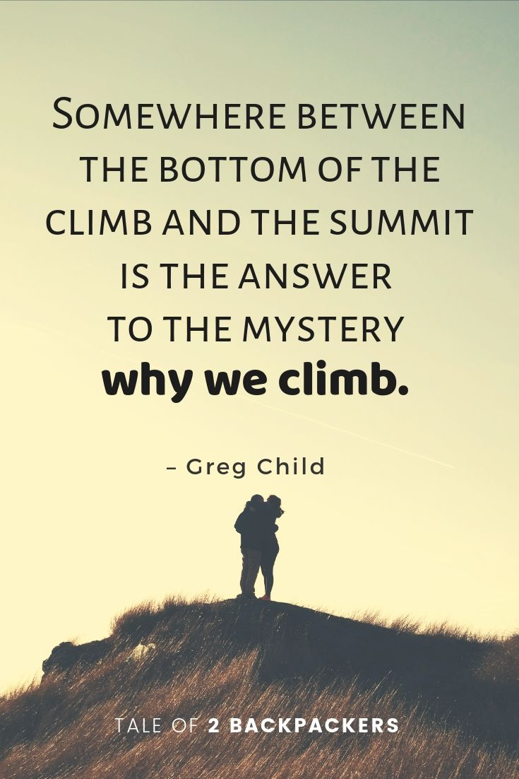 111 Inspiring Mountain Quotes and Hiking Sayings | Tale of 2 ...