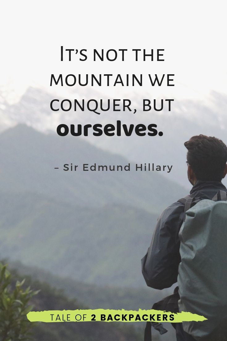 conquering quotes and inspirational mountain quotes