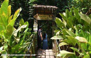 entrance of the Mari Mari Cultural village near Kota Kinabalu