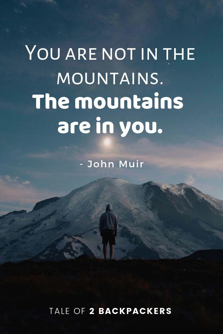ohn muir mountain quotes