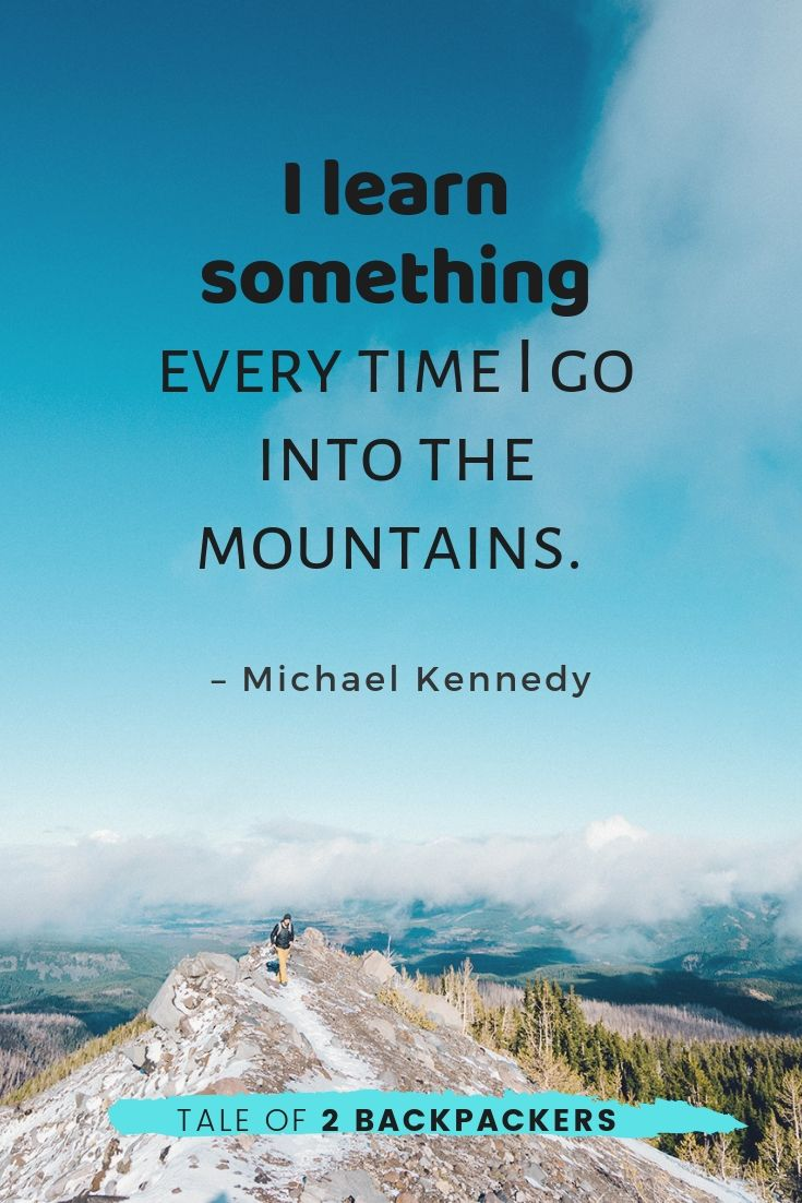 famous mountain quotes