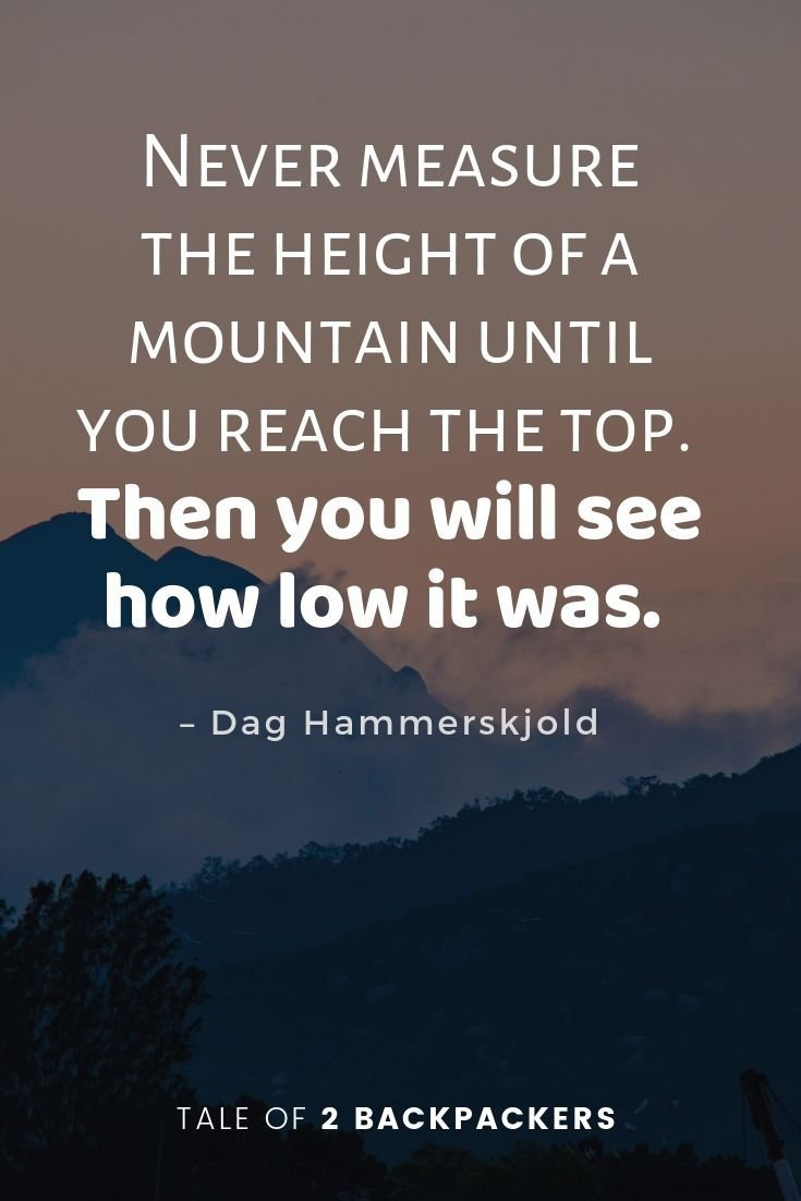 inspirational mountain quotes