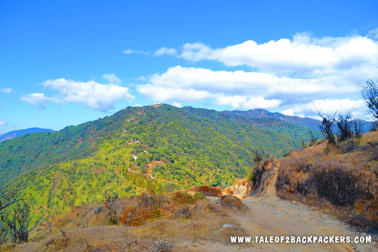 mountain trails at Srikhola