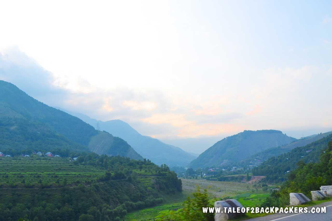 on the way towards Pahalgam