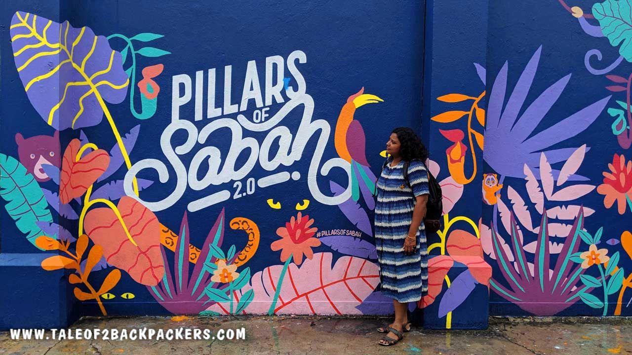 Looking at the Pillars of Sabah 2.0 in Kota Kinabalu, Sabah