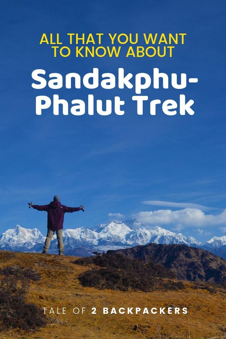 sandakphu phalut trek guide - pinterest
