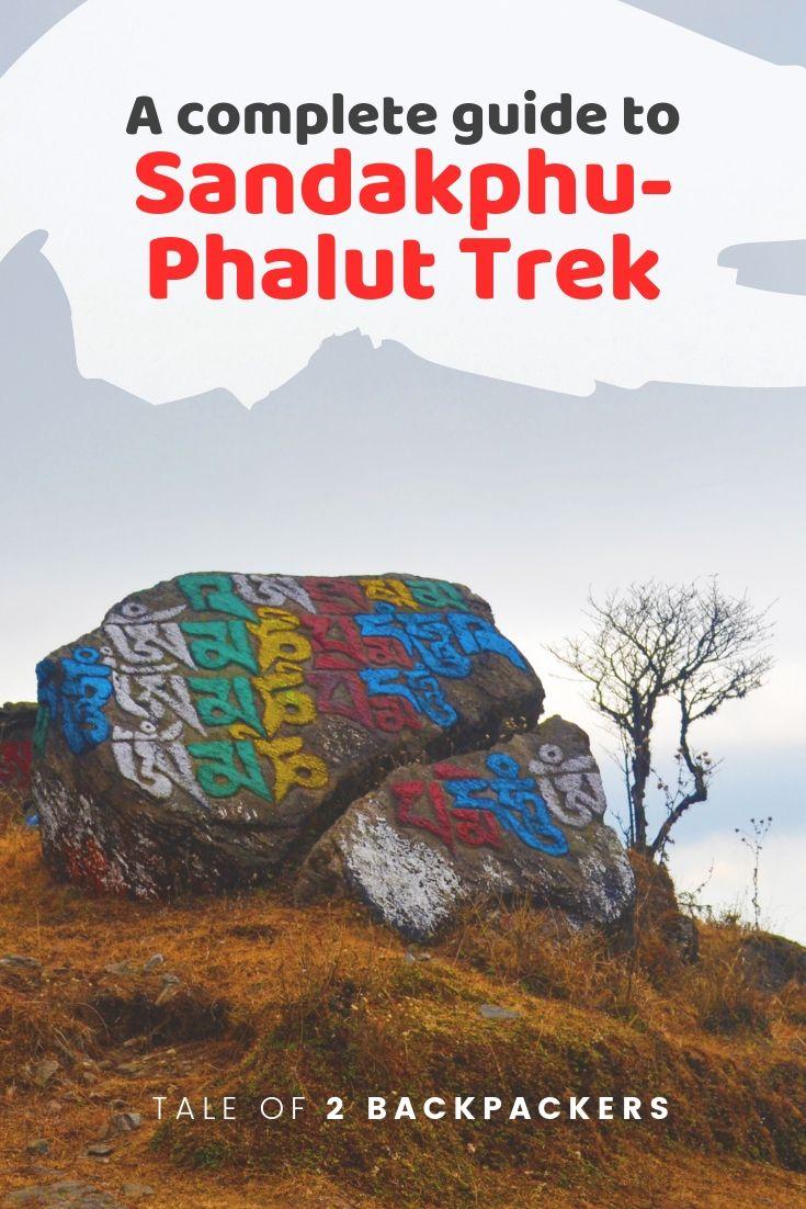 sandakphu trek - pinterest
