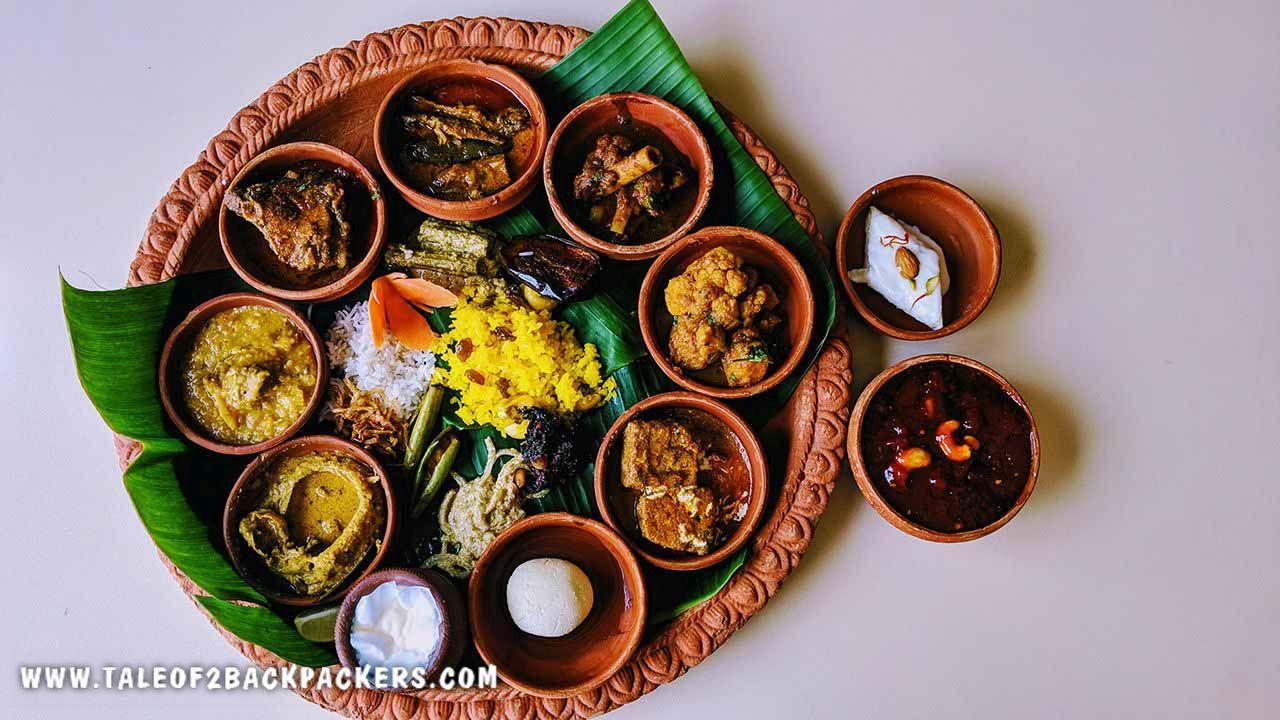 Bengali cuisine at Bilaspur