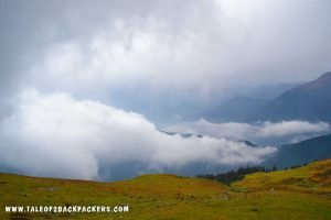 meadows at Tungnath Deoriatal Chandrashila Trek