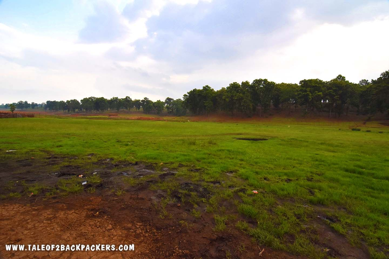 Daldali at Mainpat where the ground shakes