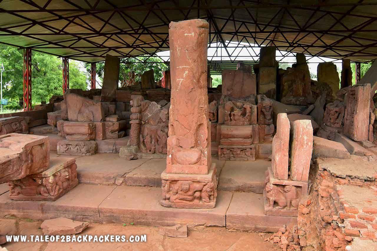 Dilapidated Jethani Temple at Tata near Bilaspur - Bilaspur Tourist places