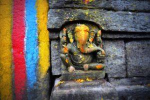Ganesh idol at Tungnath Temple