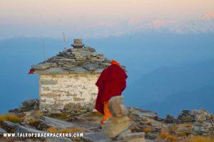 Ganga Temple at Chandrashila Peak