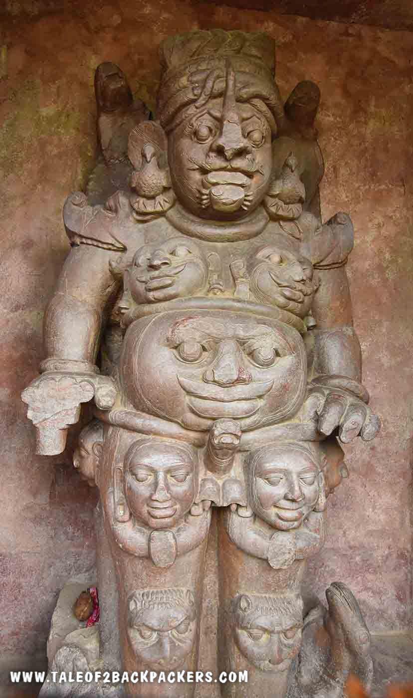 Rudra Shiva Idol at Talagaon Bilaspur