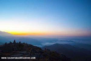 Sunrise at Chandrashila