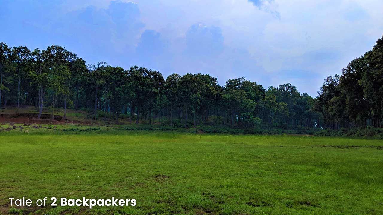 The landscape of Daldali