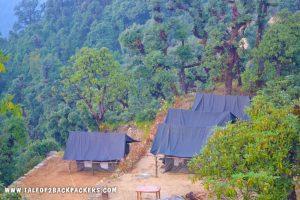 campsite at deoriatal