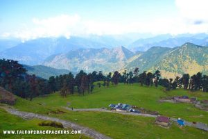 meadow at Tungnath