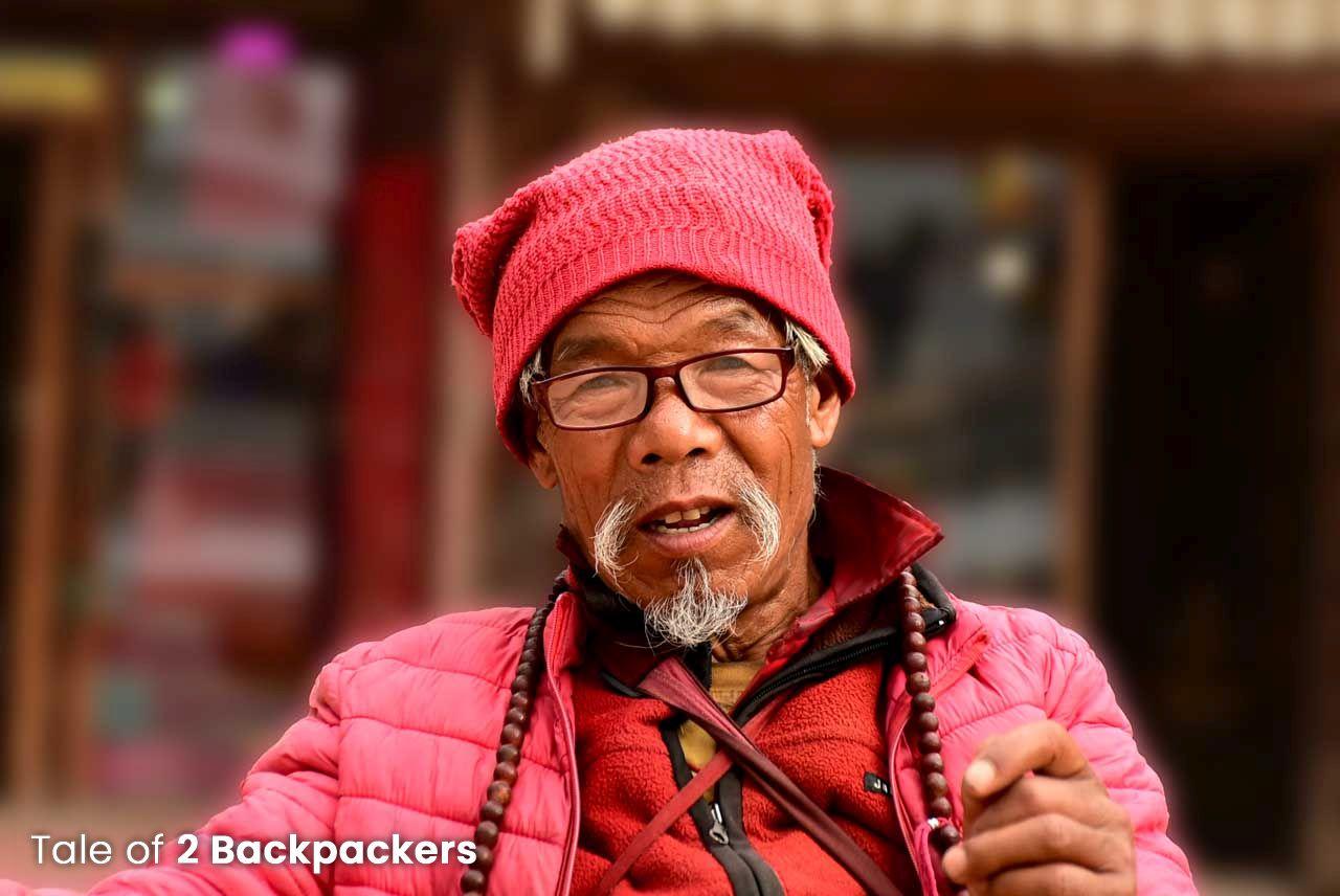 Nepali man_ Nepal travel guide