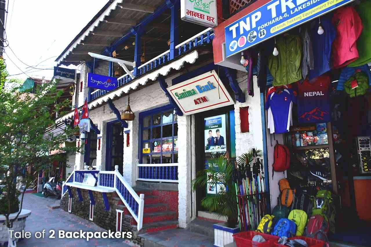 ATMS in Pokhara