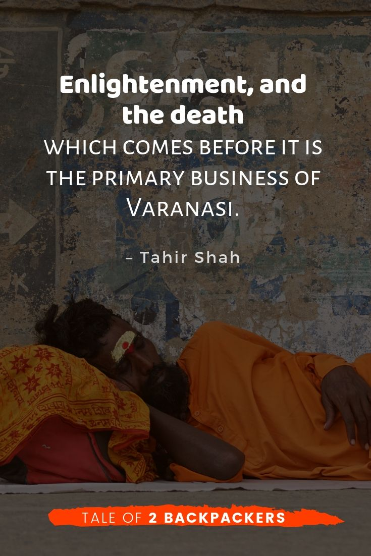 Quotes on Banaras by Tahir Shah