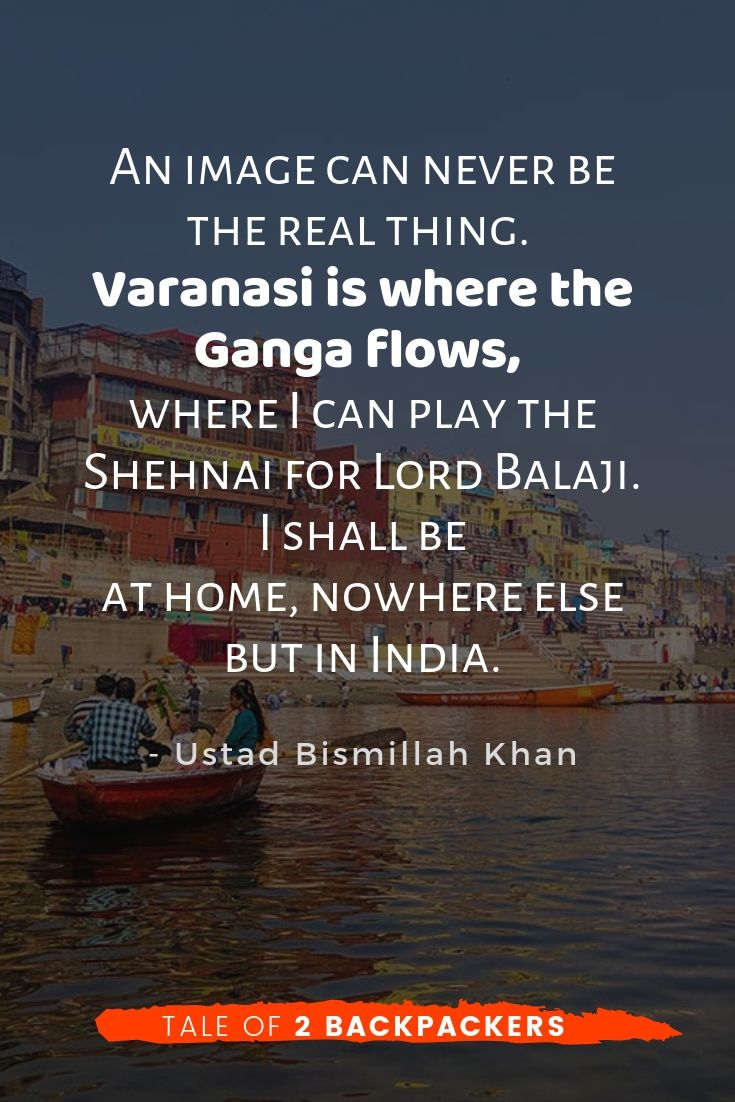 Varanasi quotes by Ustad Bismilllah Khan