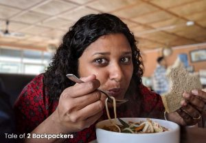 Eating at a cafe in Pokhara_ pokhara Travel Guide