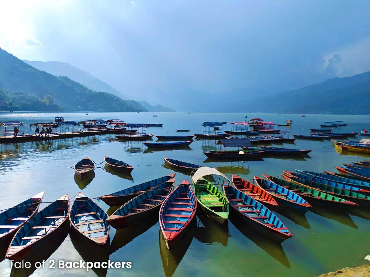 Fewa Lake in Pokhara_Nepal Travel Guide