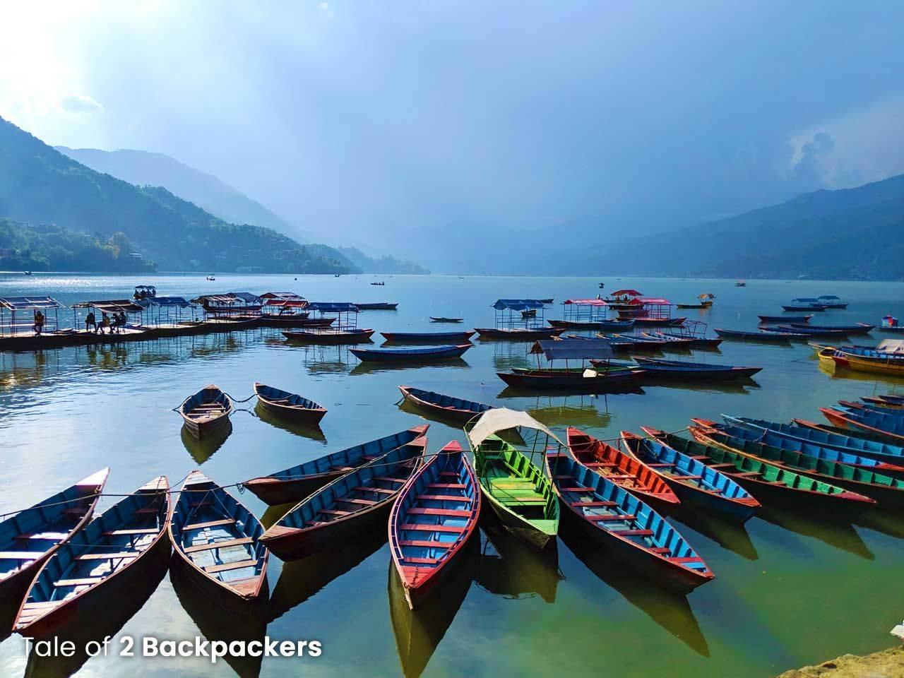 Fewa Lake in Pokhara_Nepal Travel Guide