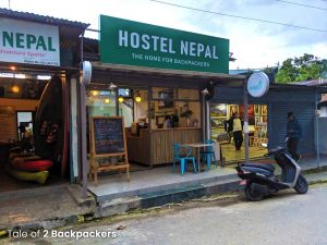 Places to stay in Pokhara