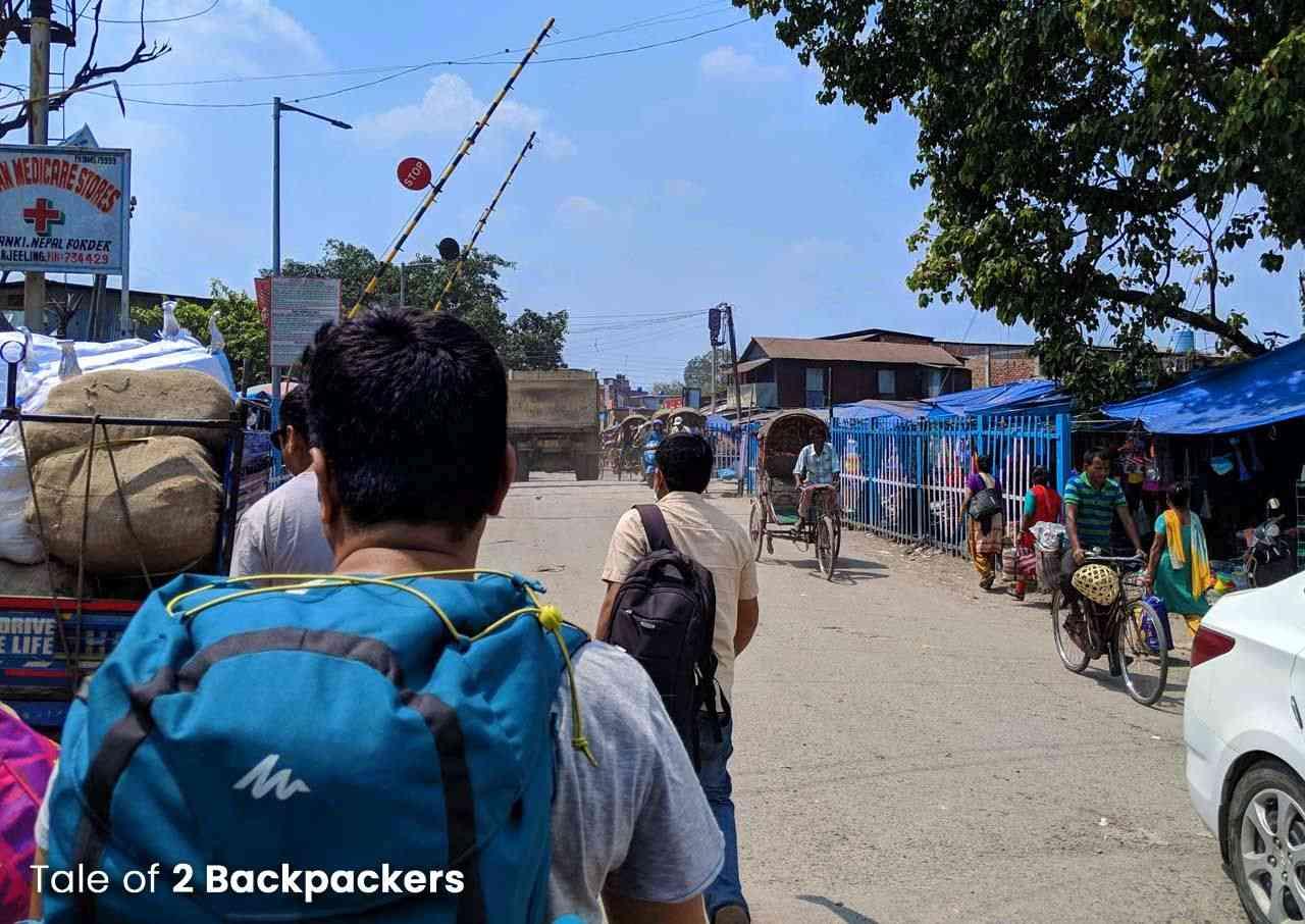 Panitanki-Kakarbhitta border_ land border crossing from India to Nepal