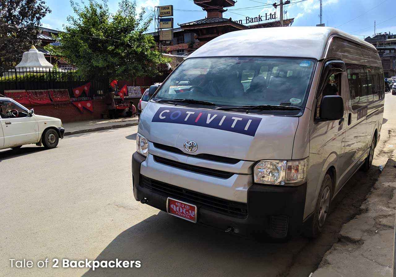 Minibuses in Nepal_Nepal trip plan