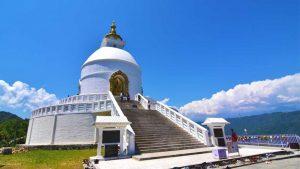 Peace pagoda_Pokhara Travel guide