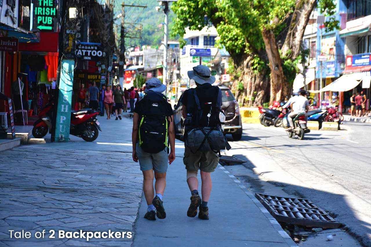 Pokhara Market_Nepal Trip Plan