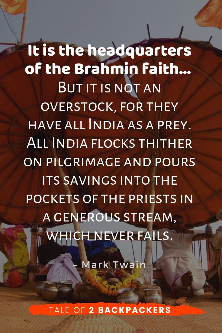 Varansi Quotes by Mark Twain