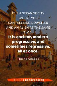 Varanasi quote by Richa Chaddha