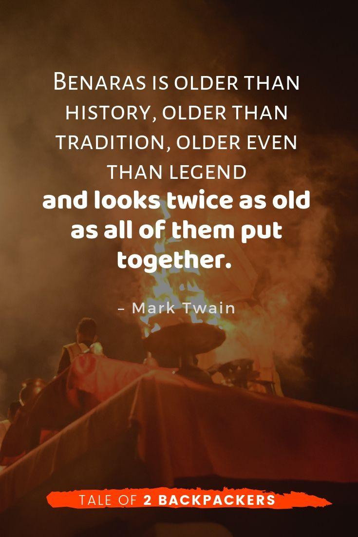 Varanasi quotes by Mark Twain