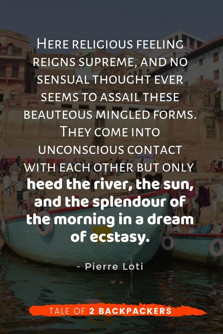 Varanasi quotes