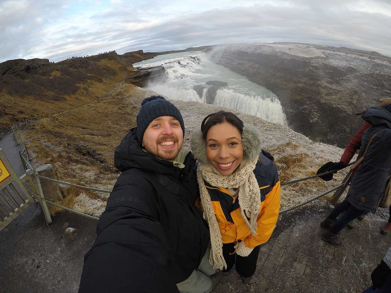 Jade and Kev in Iceland - Two Tall Travellers