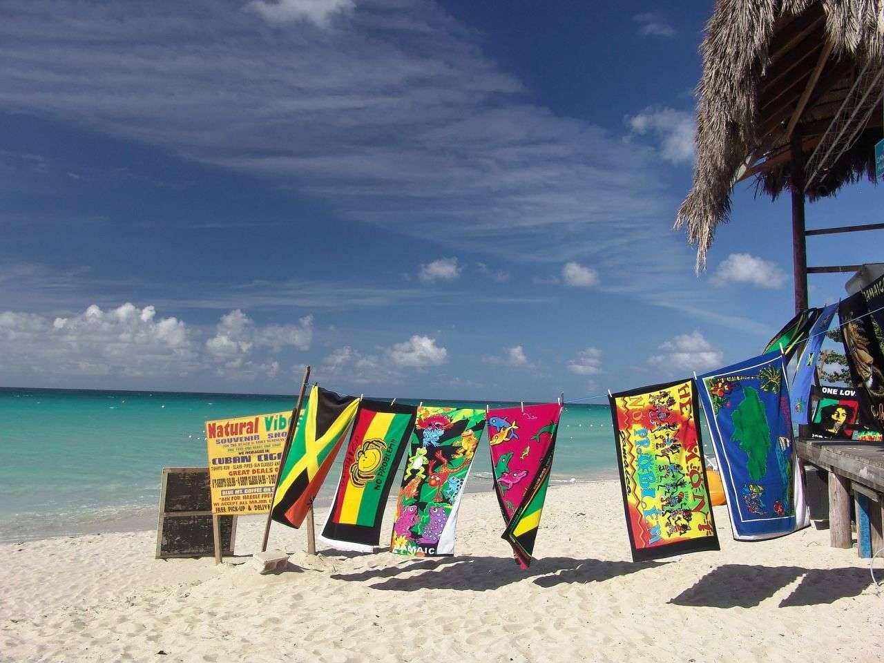 Jamaica sea beach