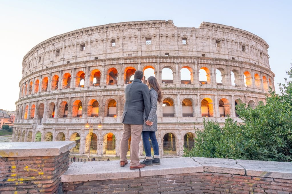 travel love story - Rome-Our Escape Clause